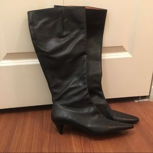 J. Crew High Boots, leather, comfortable